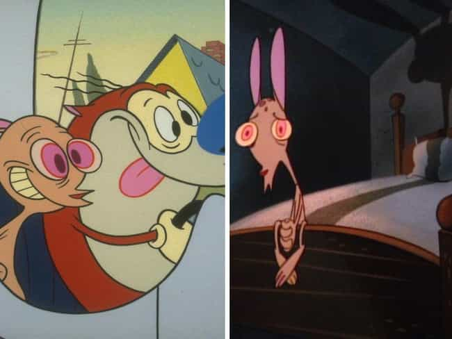 The Ren & Stimpy Sho... is listed (or ranked) 11 on the list How And Why The Animation In Your Favorite Cartoons Changed Over The Seasons