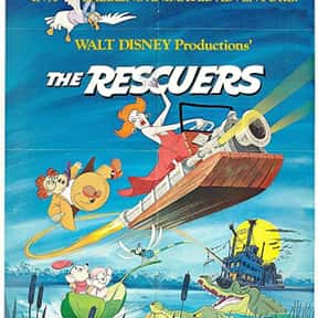 The Rescuers is listed (or ranked) 17 on the list The Best Disney Movies Starring Animals