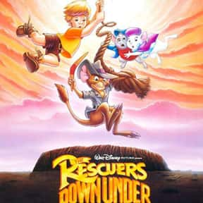 The Rescuers Down Under is listed (or ranked) 10 on the list The Best Disney Movies Starring Animals