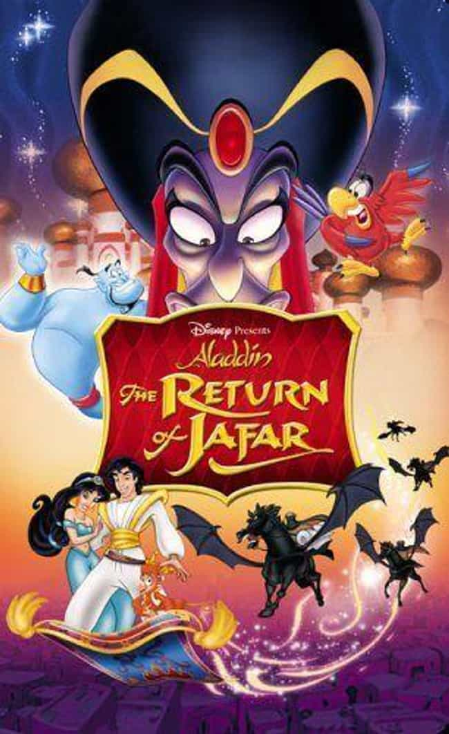 The Return of Jafar is listed (or ranked) 4 on the list The Best Aladdin Movies