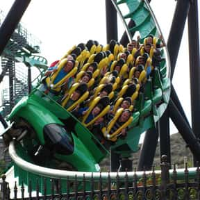 Riddler's Revenge is listed (or ranked) 8 on the list The Worst Amusement Park Rides To Get Stuck On