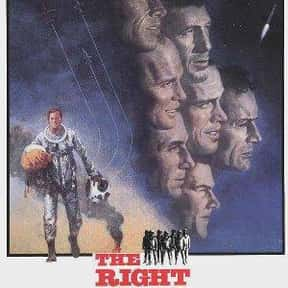 The Right Stuff is listed (or ranked) 2 on the list The Best PG History Movies