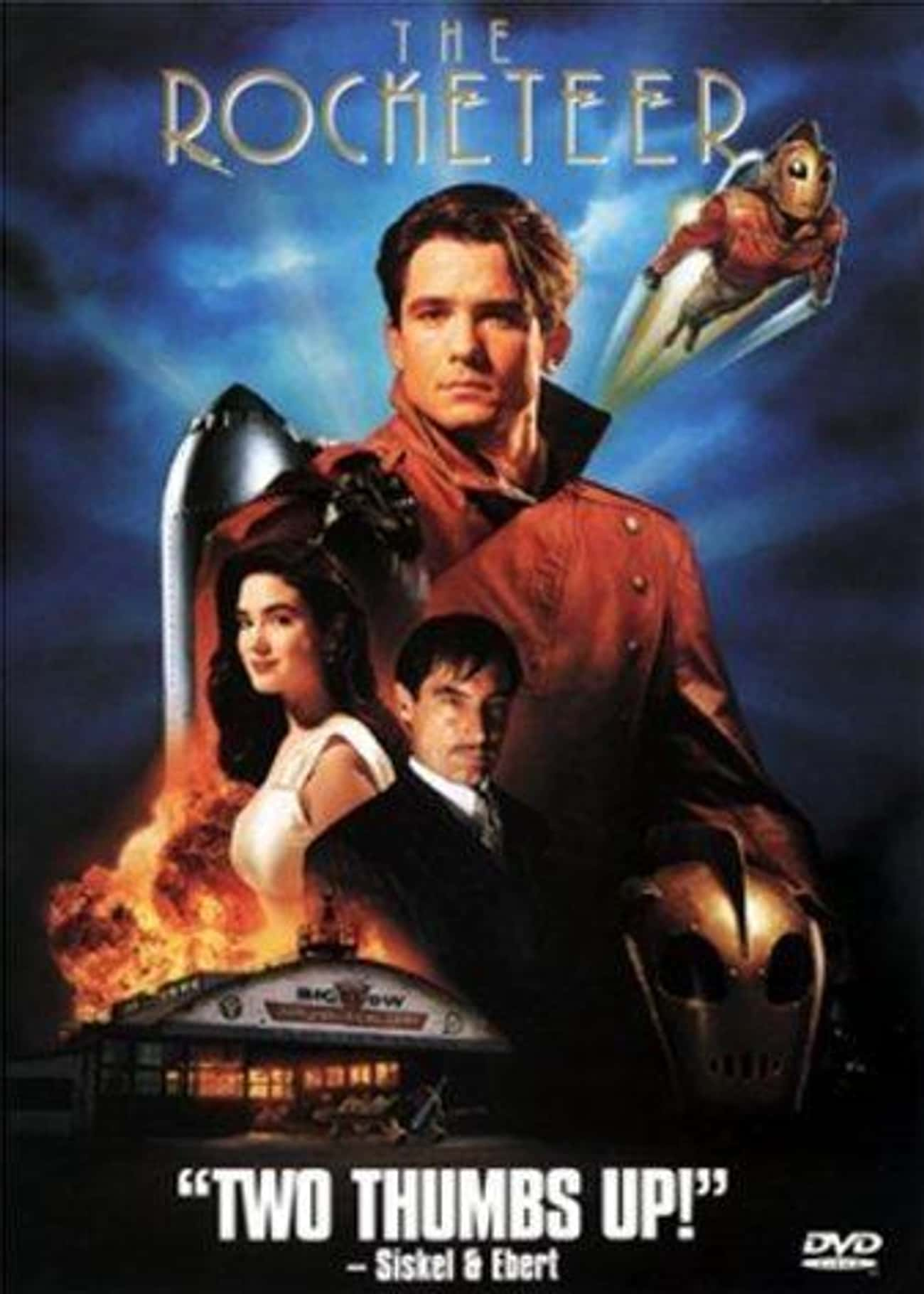The Rocketeer is listed (or ranked) 2 on the list 19 Forgotten Movies You Probably Didn't Realize Are On Disney+