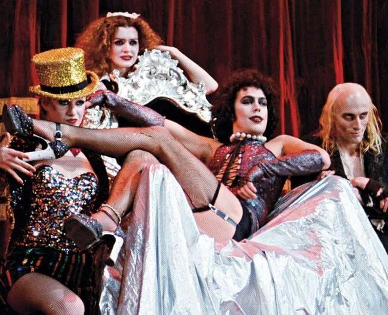 The Rocky Horror Picture Show is listed (or ranked) 2 on the list Hugely Popular Movies That Originally Flopped