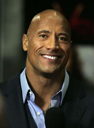 Dwayne Johnson is listed (or ranked) 1 on the list The Hottest Bald Men