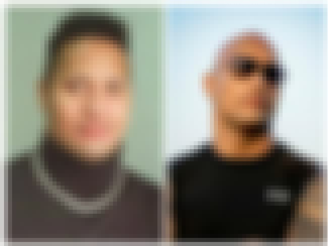Dwayne Johnson is listed (or ranked) 3 on the list 25 Celebrities Rocking the Bald Look