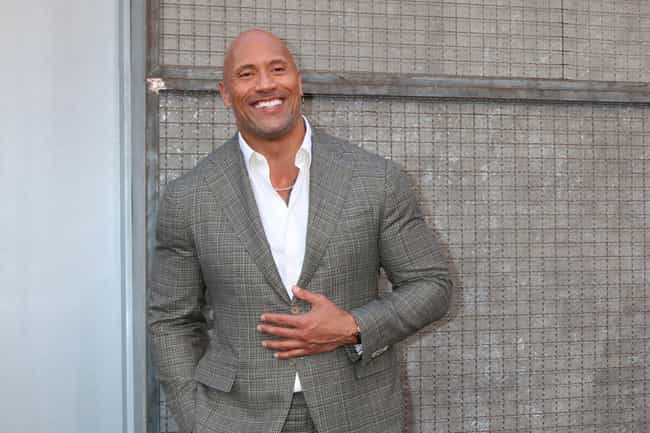Dwayne Johnson is listed (or ranked) 8 on the list 13 Celebrities Who Play 'Dungeons & Dragons'