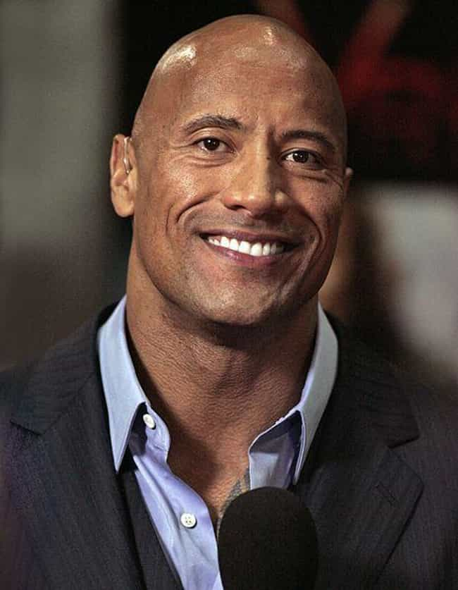 Dwayne Johnson is listed (or ranked) 2 on the list The Hottest Bald Men