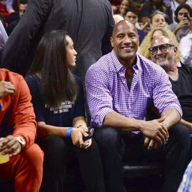 Dwayne Johnson is listed (or ranked) 2 on the list Celebrity Heat Fans