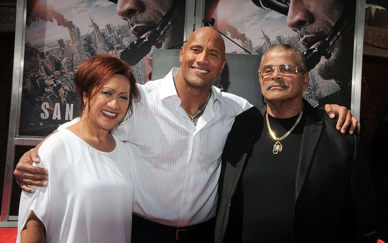 Dwayne Johnson is listed (or ranked) 2 on the list Biracial Celebrities List