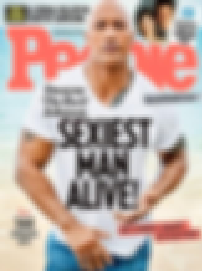 Dwayne Johnson is listed (or ranked) 1 on the list Every Cover of People's Sexiest Man Alive Issue, Ever