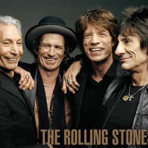 The Rolling Stones is listed (or ranked) 11 on the list The Best Rock Bands of All Time