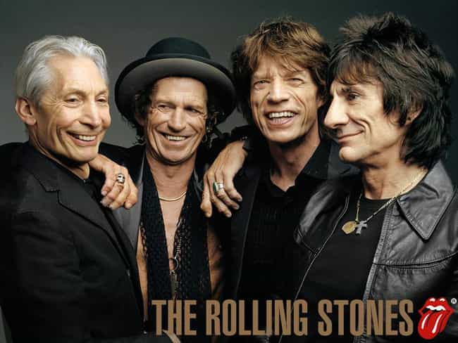 The Rolling Stones is listed (or ranked) 4 on the list The Best Rock Bands of All Time