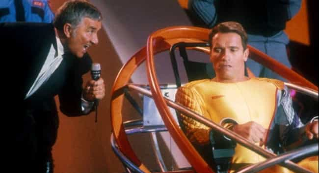 The Running Man is listed (or ranked) 2 on the list 'Stupid' Action Movies That Are Secretly Brilliant
