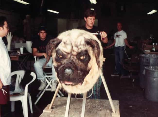 The Sandlot is listed (or ranked) 2 on the list 35 Awesome Behind the Scenes Pictures of Movie Monsters