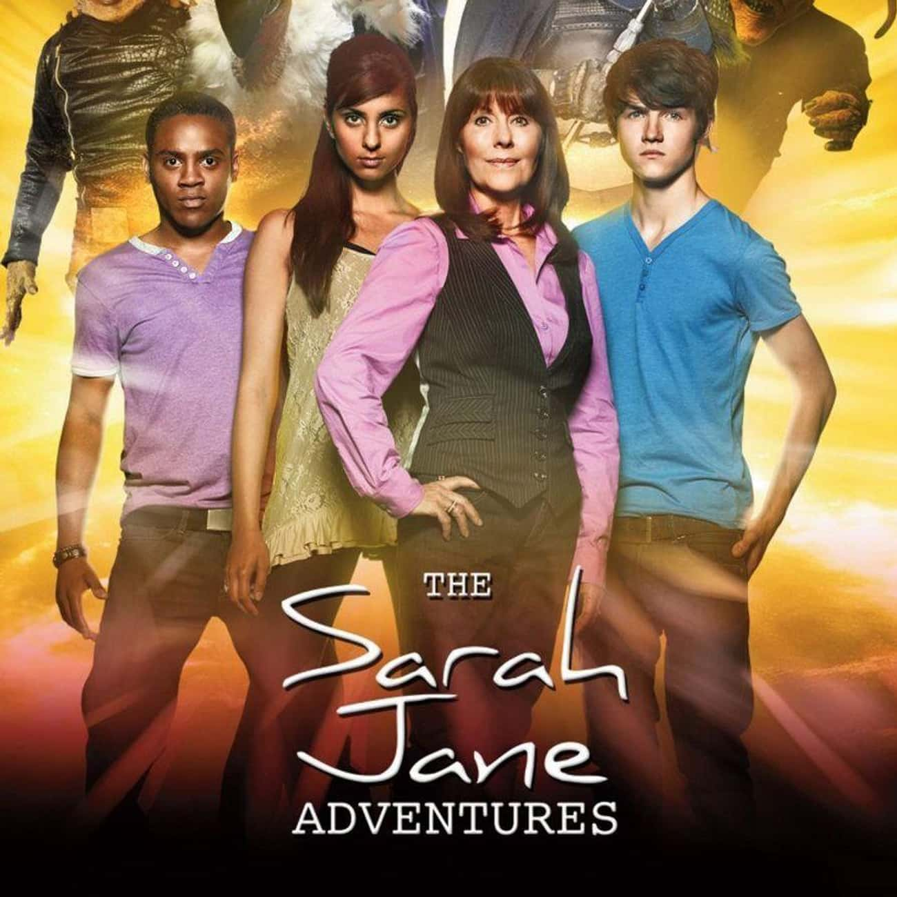 The Sarah Jane Adventures is listed (or ranked) 3 on the list Every 'Doctor Who' Show & Spinoff Across Time And Space