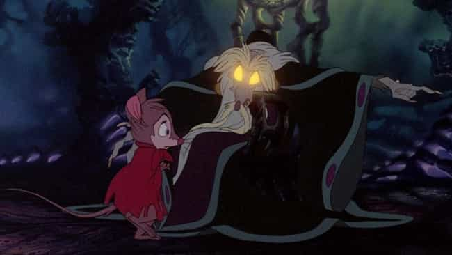 The Secret of NIMH is listed (or ranked) 3 on the list Movies That Weren't Supposed To Be Scary But Terrified You As A Kid