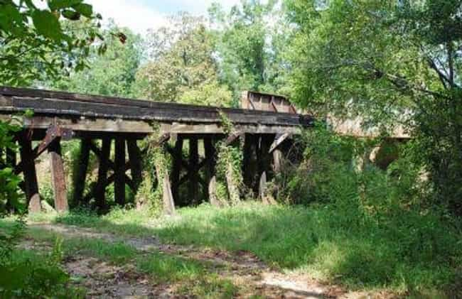 Angelina River Bridge is listed (or ranked) 1 on the list Bridges in Texas