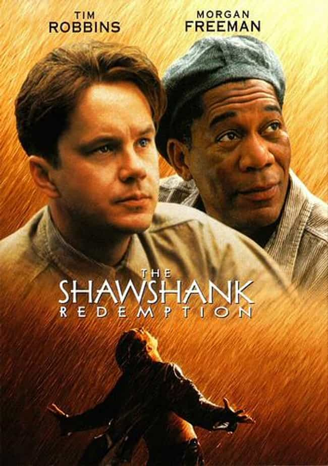 The Shawshank Redemption... is listed (or ranked) 1 on the list The Best Movies Based on Stephen King Books