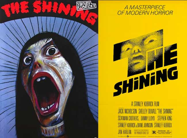 The Shining is listed (or ranked) 3 on the list Wonderfully Weird Polish Horror Movie Posters Vs. Their American Counterparts