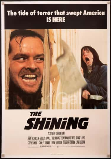 The Shining (1980) is listed (or ranked) 2 on the list Horror Movie Posters That Spoiled The Movie