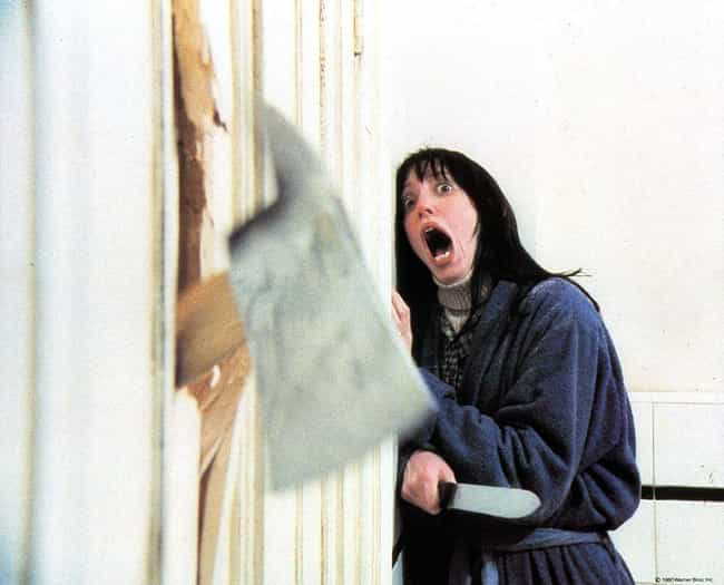 The Shining is listed (or ranked) 7 on the list Classic Movie Moments That Turned Out To Be The Real Thing