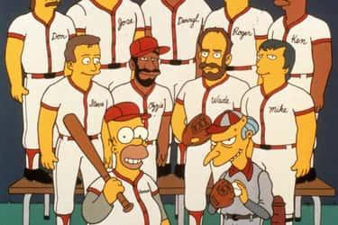 The Springfield Nuclear Power Plant Softball Team ('The Simpsons')