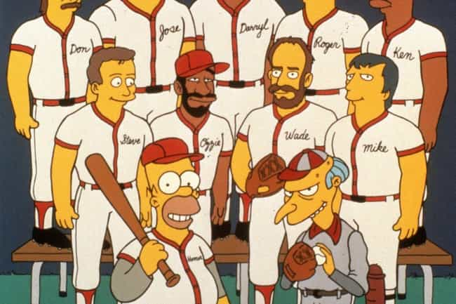 The Simpsons is listed (or ranked) 1 on the list Fictional Sports Teams You Wish You Could Root For IRL