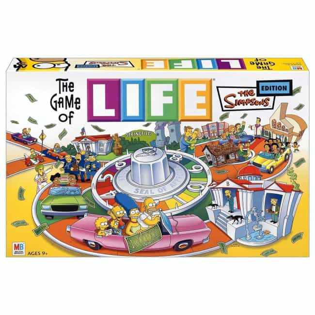 The Simpsons is listed (or ranked) 4 on the list The Best Editions of The Game of Life