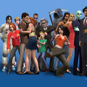 The Sims is listed (or ranked) 2 on the list List of All Simulation Video Games
