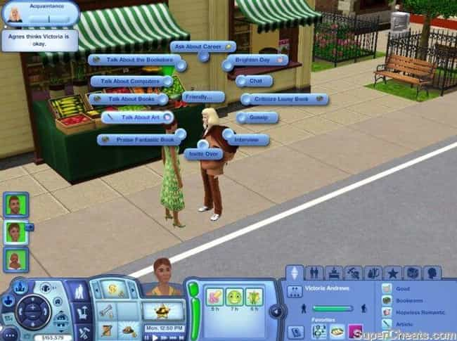 The Sims is listed (or ranked) 3 on the list What Your Favorite Video Games Say About You, According To Science