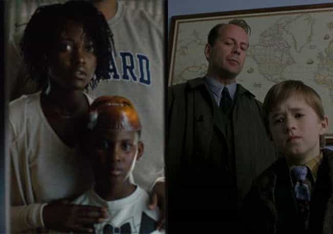 The Sixth Sense is listed (or ranked) 4 on the list All The Horror Inspirations And Easter Eggs Hidden Throughout 'Us'