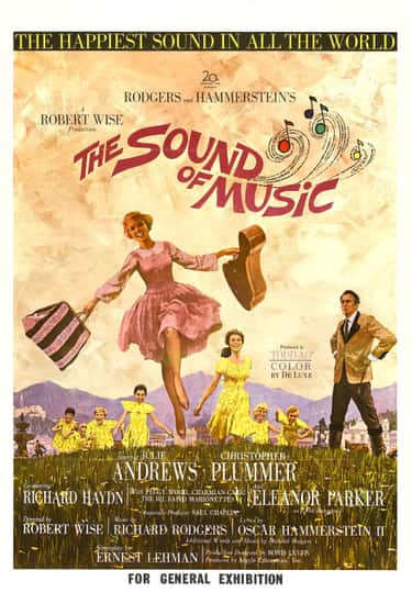 The Sound of Music is listed (or ranked) 1 on the list The Best Historical Movies for Kids