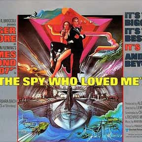 The Spy Who Loved Me is listed (or ranked) 2 on the list Every James Bond Movie, Ranked Best to Worst
