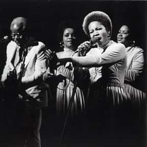 The Staple Singers is listed (or ranked) 23 on the list The Most Undeserving Members of the Rock Hall of Fame