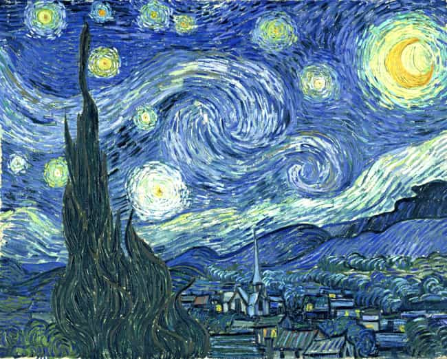 The Starry Night is listed (or ranked) 2 on the list The Most Amazing Pieces of Artwork Ever Made