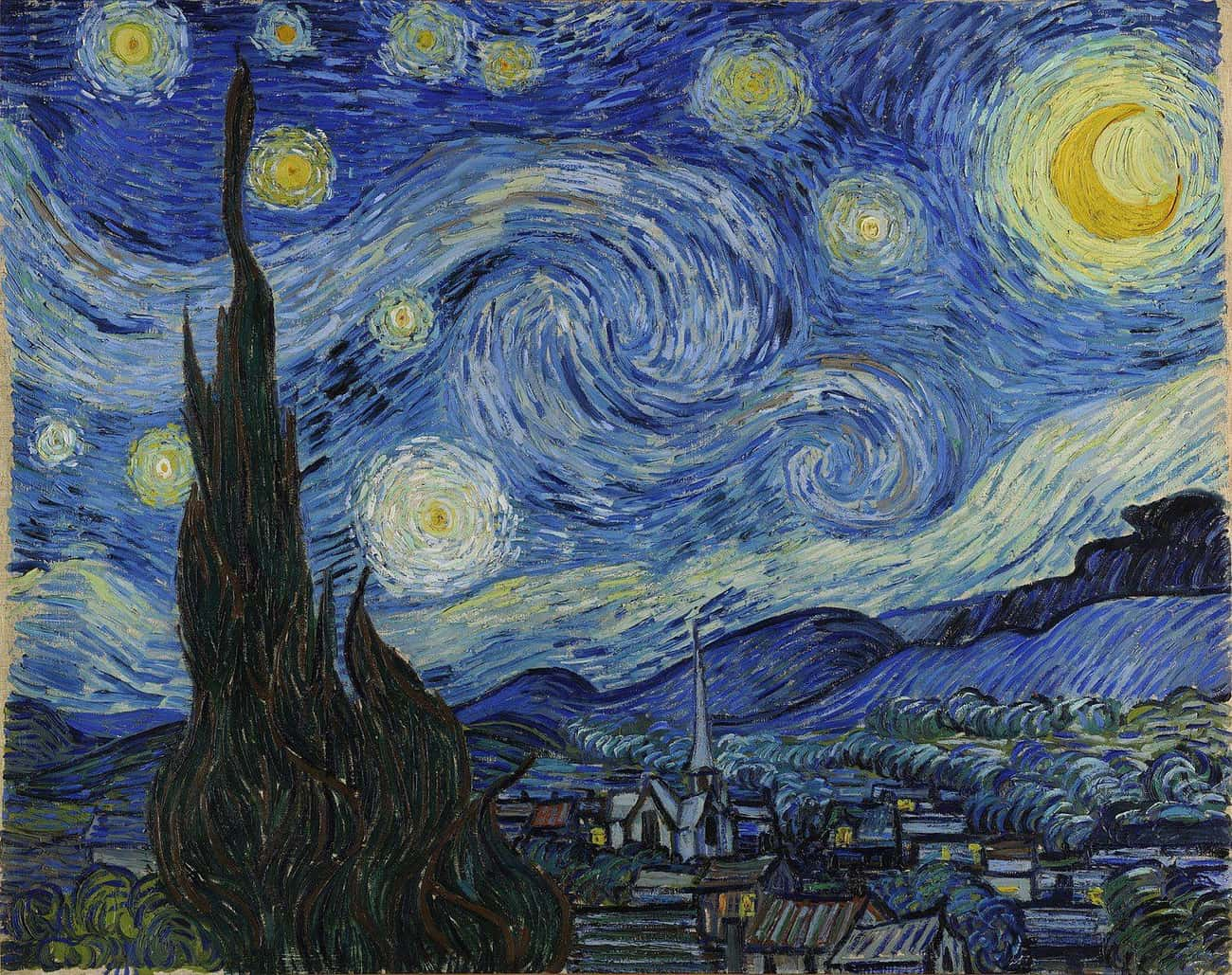 The Starry Night is listed (or ranked) 1 on the list The Best Paintings Of All Time