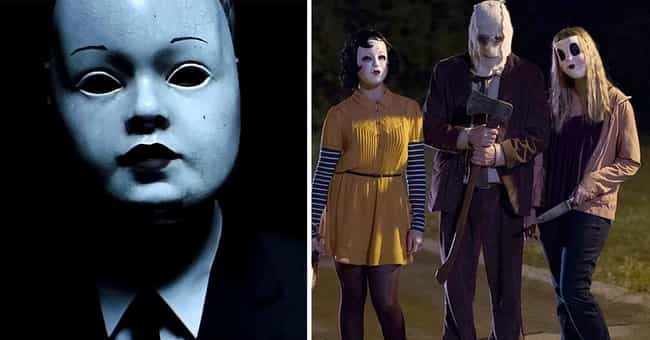 The Strangers is listed (or ranked) 3 on the list 'The Cabin In The Woods' Monsters Vs. Their Inspirations
