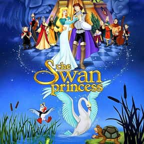 The Swan Princess is listed (or ranked) 21 on the list The Best Princess Movies