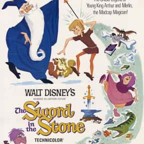 Sword in the Stone is listed (or ranked) 16 on the list The Best Medieval Movies