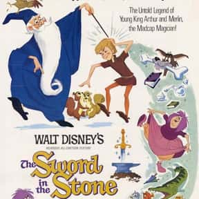 The Sword in the Stone is listed (or ranked) 11 on the list The Best Animated Films Ever