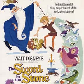 The Sword in the Stone is listed (or ranked) 23 on the list The Best Fantasy Movies Based on Books