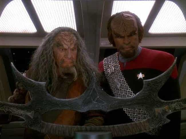 The Sword of Kahless is listed (or ranked) 3 on the list The Best Episodes of Star Trek Directed By The Cast