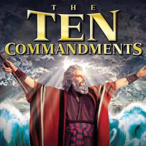 The Ten Commandments is listed (or ranked) 16 on the list The Best Sword and Sandal Films Ever Made