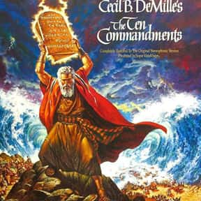 The Ten Commandments is listed (or ranked) 20 on the list The Most Inspirational Movies Ever