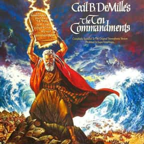 The Ten Commandments is listed (or ranked) 3 on the list The Best Movies That Are Super Long