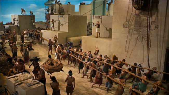 The Ten Commandments is listed (or ranked) 3 on the list The Biggest Movie Sets in Film History