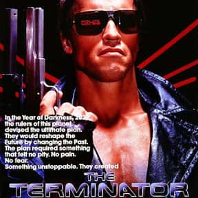 The Terminator is listed (or ranked) 3 on the list The Best Time Travel Movies