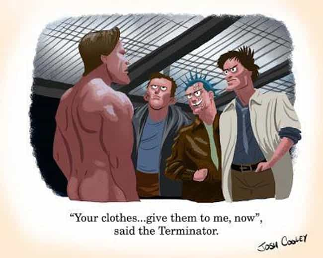 The Terminator is listed (or ranked) 4 on the list An Artist From Pixar Transforms Your Favorite Horror Movies Into Kids' Books