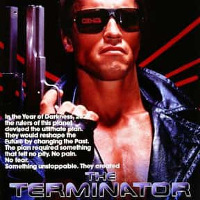 The Terminator is listed (or ranked) 2 on the list The Best Action Movies of the 1980s